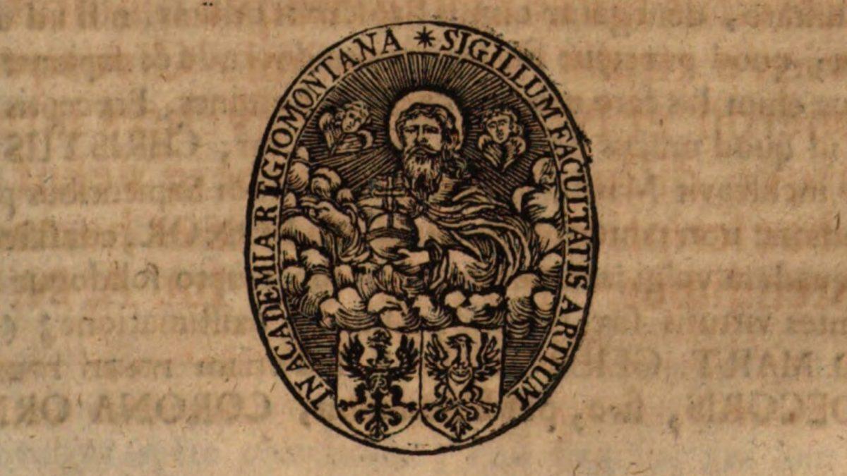 Siegel der philosophischen Fakultät der Universität Königsberg